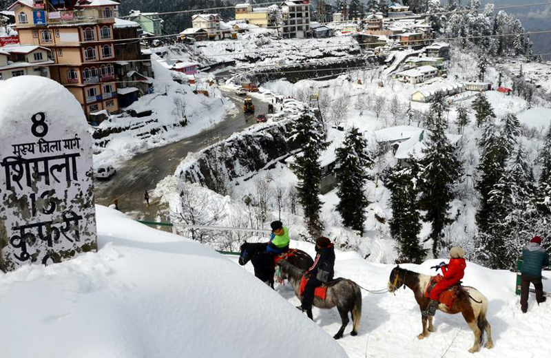 kufri in shimla by travelsite india