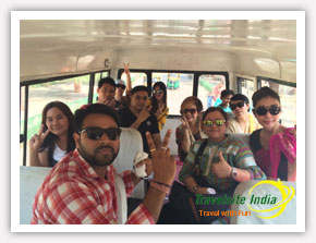 Group Tour from Thailand to Indiad