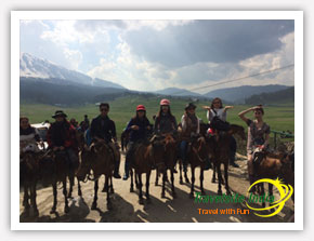 Horse Riding in Gulmarg by Thailand Customer