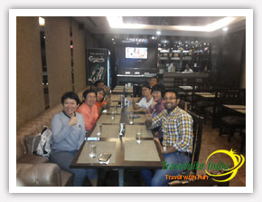 Dinner with Happy Customer from Thailand
