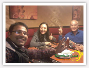 Travelsite India Happy Customer from Taiwan
