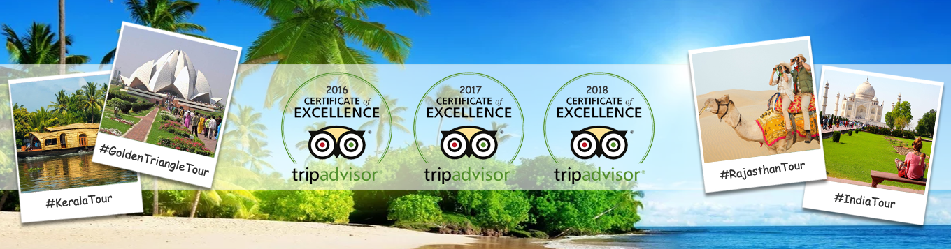 Travelsite India Trip Advisor Certificate of Excellence 2018