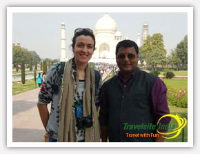 Taj Mahal Tour of Happy Customer from Italy