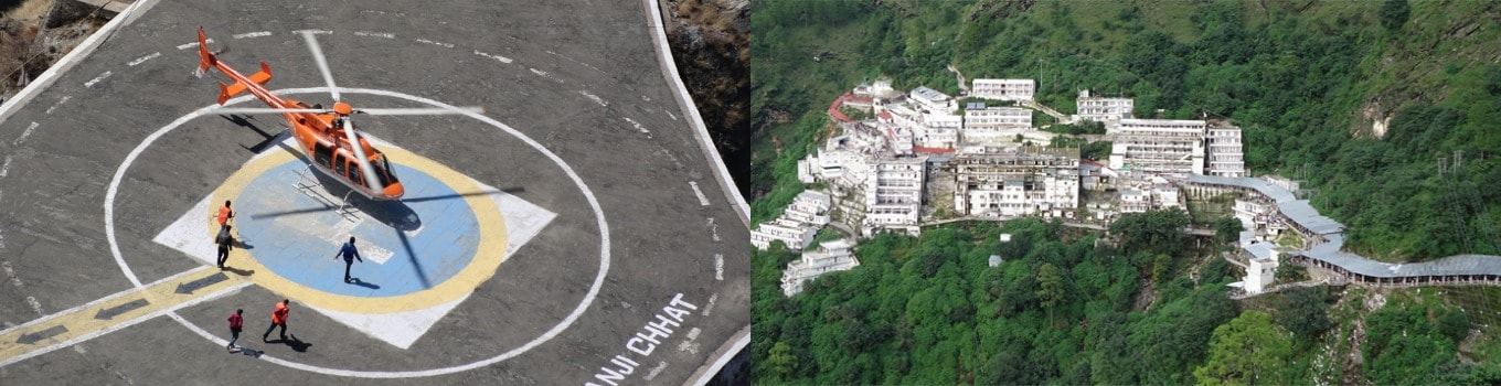 Mata Vaishno Devi Darshan by Helicopter