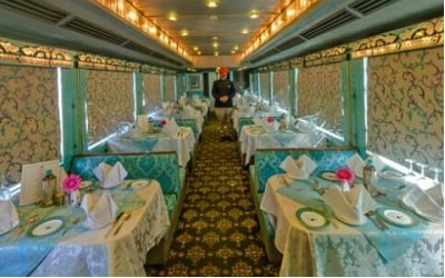 Royal Rajasthan on Wheels interiors