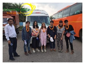 Travelsite India Happy Customer from Myanmar