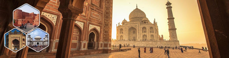 INDIA TAJ MAHAL PROUD PRIDE TRAVEL LOVE CULTURE Mens Orange T-Shirt
